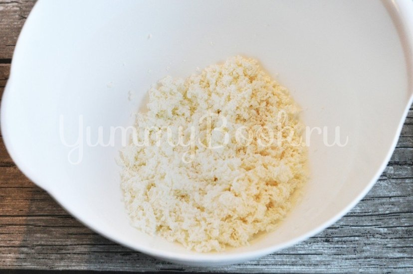 Сырники с крем-сыром - шаг 1