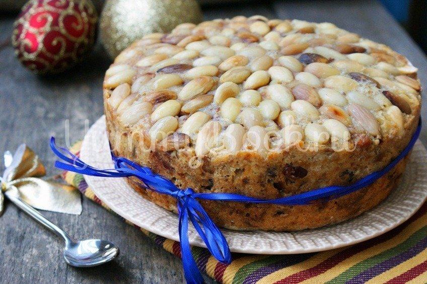 Рождественский кекс Dundee Cake в мультиварке