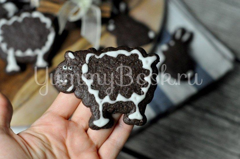 Шоколадное печенье - шаг 8