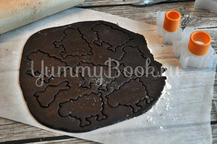 Шоколадное печенье - шаг 7