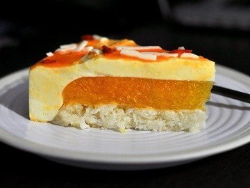 Муссовый торт Мандаринка