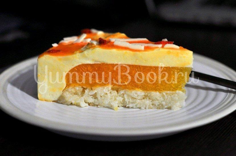 Муссовый торт Мандаринка - шаг 17