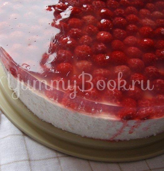 Торт «Зимнее искушение с малиновой ноткой» - шаг 11