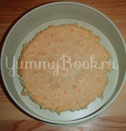 Торт «Зимнее искушение с малиновой ноткой» - шаг 3