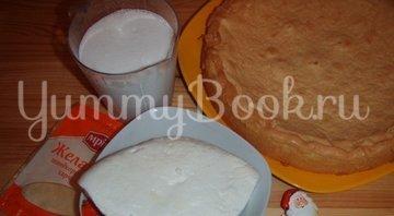 Торт «Зимнее искушение с малиновой ноткой» - шаг 1