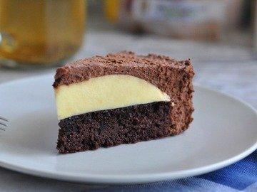 Шоколадный торт-мусс