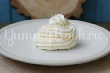 Белковый заварной масляный крем - шаг 5