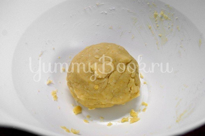 Песочное печенье с шоколадом - шаг 3