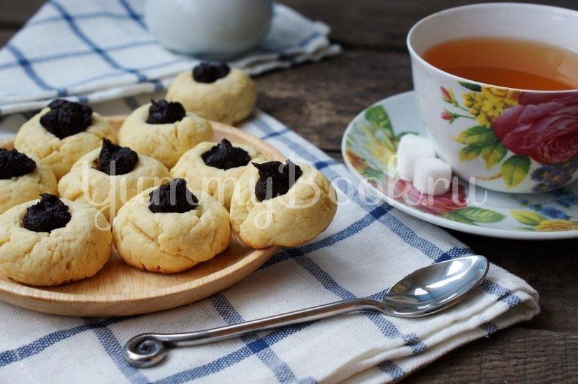 Песочное печенье с шоколадом - шаг 7
