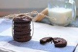 Рассыпчатое шоколадное печенье