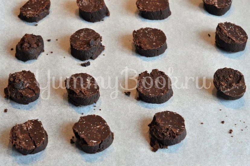Рассыпчатое шоколадное печенье - шаг 8
