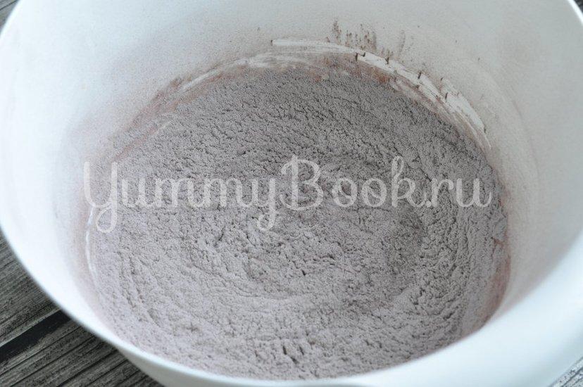 Рассыпчатое шоколадное печенье - шаг 2