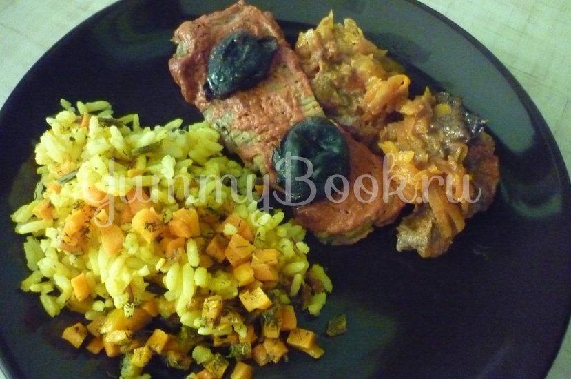 Рис с морковью и зеленью - шаг 11