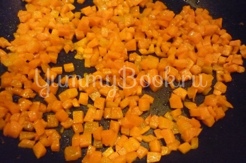 Рис с морковью и зеленью - шаг 5