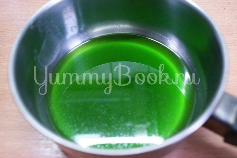 Торт Птичье молоко с зелёным чаем - шаг 8