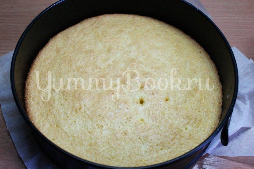 Торт Птичье молоко с зелёным чаем - шаг 7