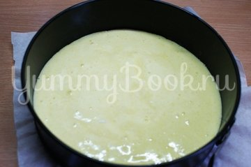 Торт Птичье молоко с зелёным чаем - шаг 6