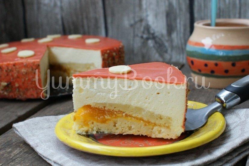 Муссовый торт с персиком - шаг 16