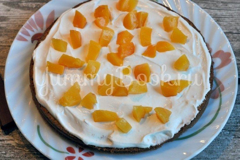 Бисквитный торт с кремом - шаг 7