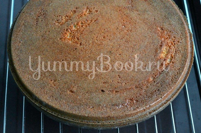 Бисквитный торт с кремом - шаг 4