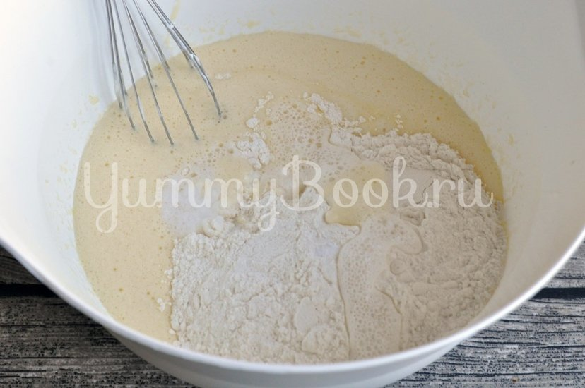 Бисквитный торт с кремом - шаг 2