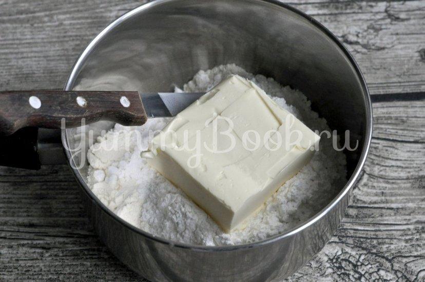 Творожный тарт - шаг 1