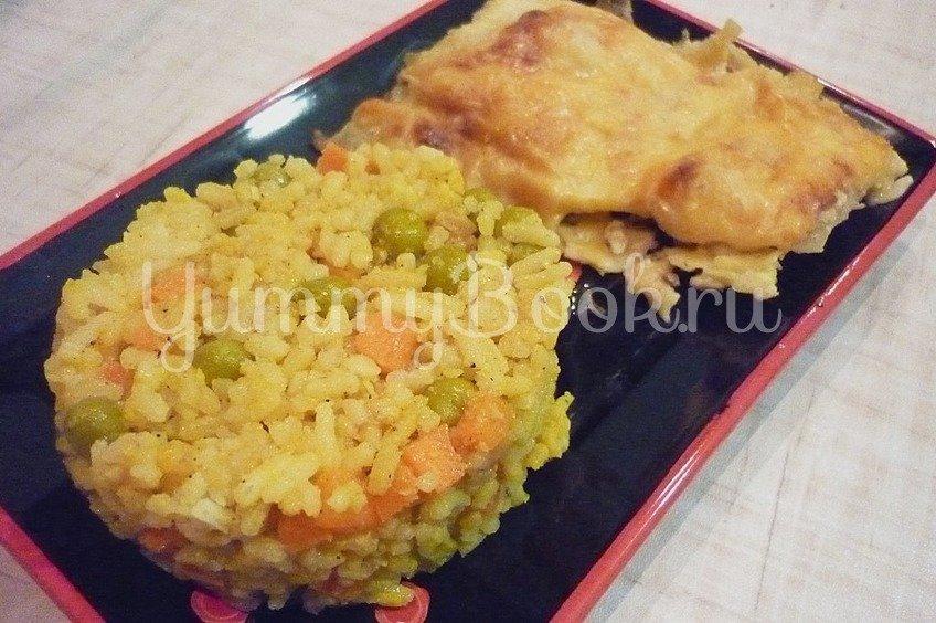"""Нежный рис с """"простыми"""" овощами"""