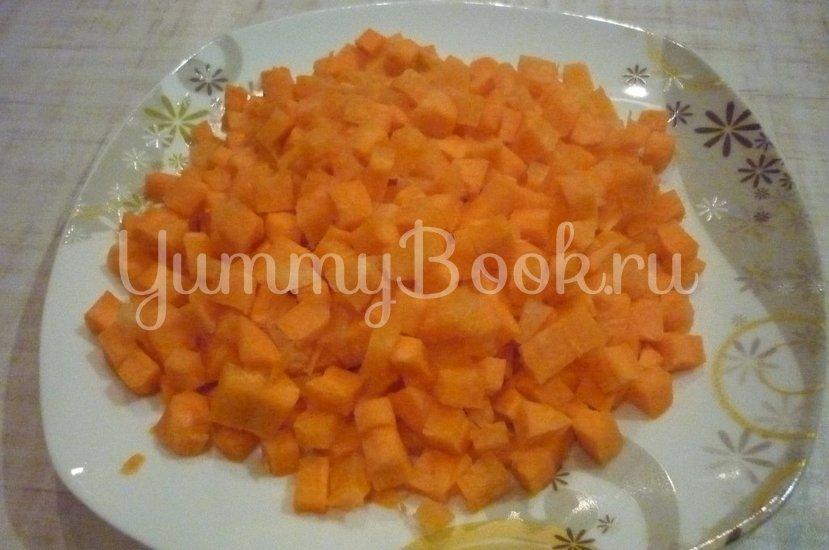 """Нежный рис с """"простыми"""" овощами - шаг 1"""