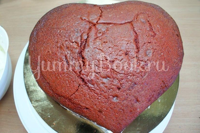 "Торт ""Красный бархат"" (Red Velvet Cake) - шаг 11"