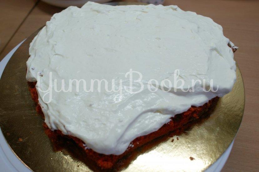 "Торт ""Красный бархат"" (Red Velvet Cake) - шаг 10"