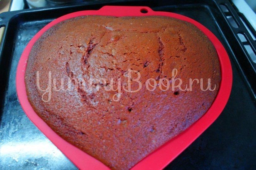 "Торт ""Красный бархат"" (Red Velvet Cake) - шаг 7"