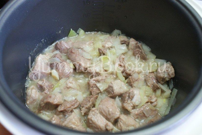 Гороховая каша  со свининой в мультиварке - шаг 2
