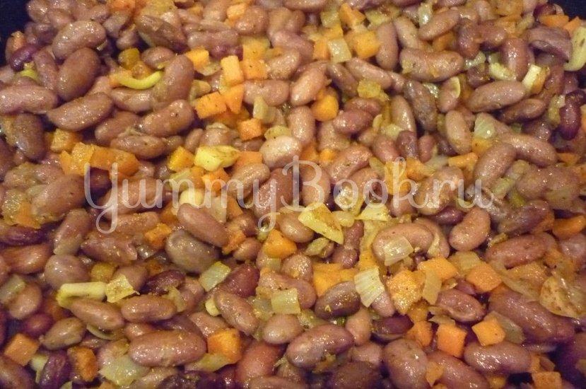 Ароматная фасоль и фасоль в остром соусе - шаг 10