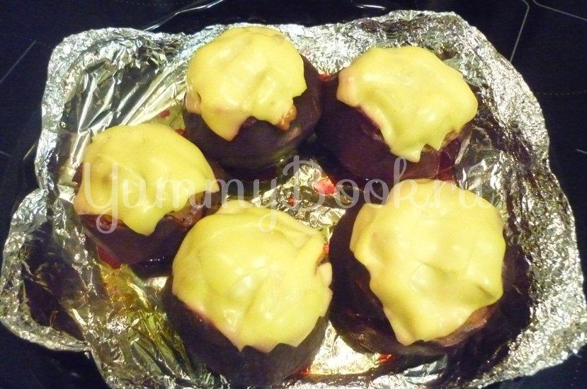 Свёкла, фаршированная мясом под сырной корочкой - шаг 9