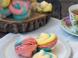 Разноцветное безе