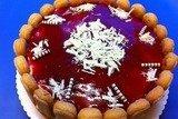 Клубничный торт с йогуртом