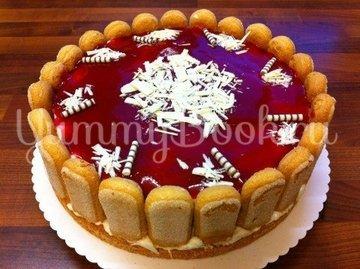 Клубничный торт с йогуртом - шаг 14
