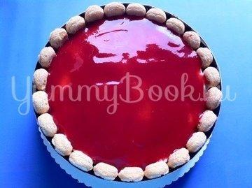 Клубничный торт с йогуртом - шаг 13