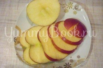 Яблоки в манном суфле, пошаговый рецепт с фото