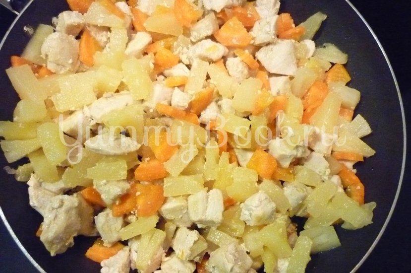 Куриное филе с ананасом в сметанном соусе - шаг 11