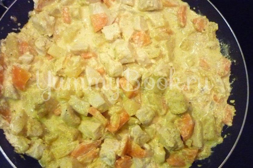 Куриное филе с ананасом в сметанном соусе - шаг 13