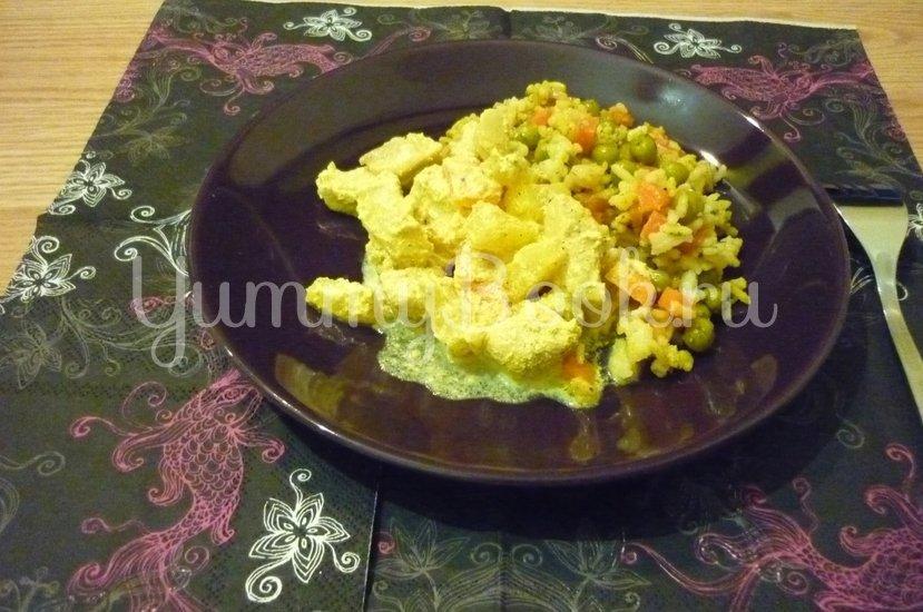 Куриное филе с ананасом в сметанном соусе - шаг 14