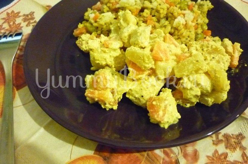 Куриное филе с ананасом в сметанном соусе - шаг 15