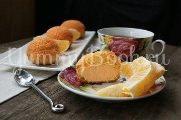 Пирожные Шу с апельсиново-творожной  начинкой - шаг 13