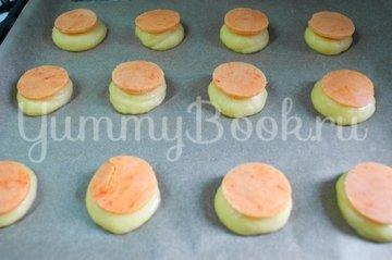 Пирожные Шу с апельсиново-творожной  начинкой - шаг 10