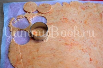 Пирожные Шу с апельсиново-творожной  начинкой - шаг 9