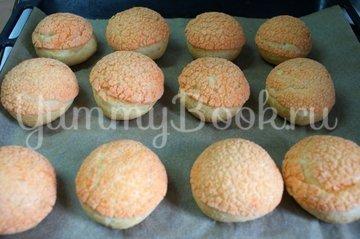 Пирожные Шу с апельсиново-творожной  начинкой - шаг 11