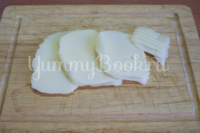 Куриные ножки с сыром в слоеном тесте - шаг 2