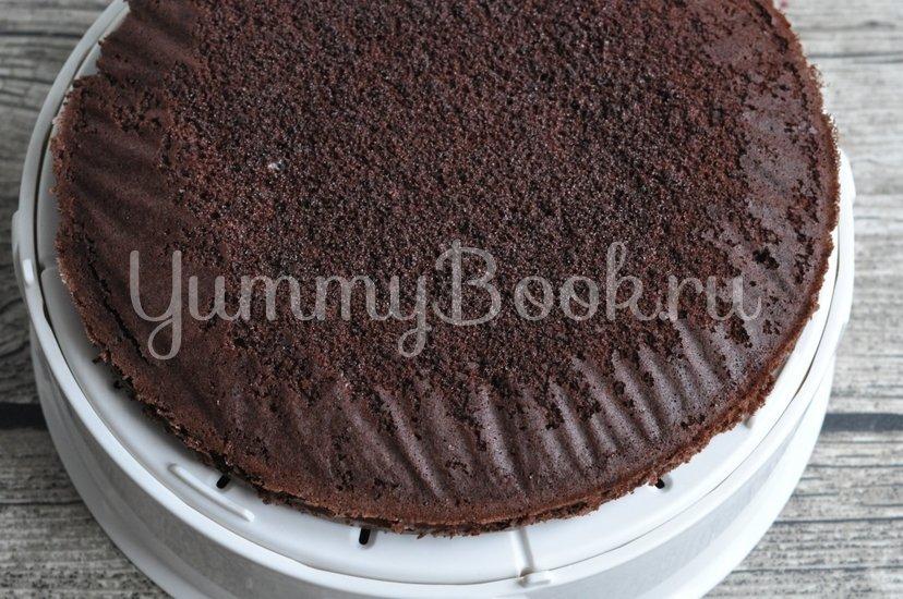 Шоколадный торт с малиной - шаг 13