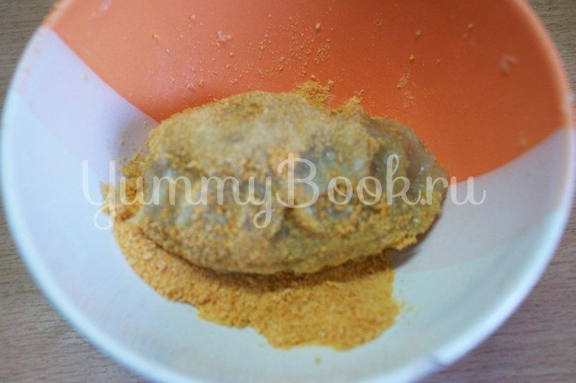 Куриные зразы с грибами - шаг 4